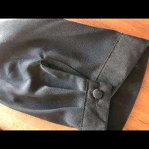 41 Hawthorn Tops - Black Hawthorn Blouse (L)